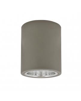 WYS. 24H! Plafon sufitowy OCZKO 10cm IP20 Metalowa DOWNLIGHT natynkowa techniczne SPOT E27 tuba szary