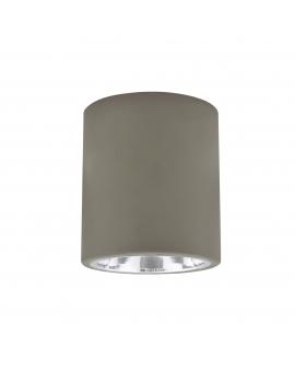WYS. 24H! Plafon sufitowy OCZKO 13cm IP20 Metalowa DOWNLIGHT natynkowa techniczne SPOT E27 tuba szary