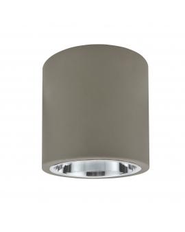 WYS. 24H! Plafon sufitowy OCZKO 17cm IP20 Metalowa DOWNLIGHT natynkowa techniczne SPOT E27 tuba szary