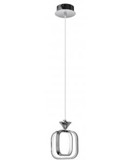 VENTI W-MD 9713/1 CHROM LAMPA WISZĄCA LED ARVINA RAMKI KWADRAT 13W ZWIS ŻYRANDOL