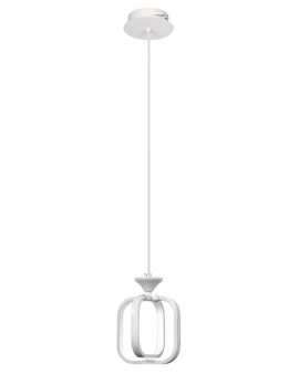 VENTI W-MD 9713/1 WHITE LAMPA WISZĄCA LED ARVINA RAMKI KWADRAT 13W ZWIS ŻYRANDOL BIAŁY