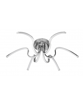 VENTI P-X 9768/6 CHROM Lampa sufitowa PLAFON DRAMEN żyrandol 60W LED NEUTRALNA paski