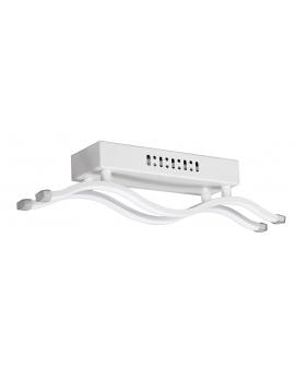 WYS 24H! Lampa sufitowa LIVONO PLAFON żyrandol 16W LED biały fale wstążki