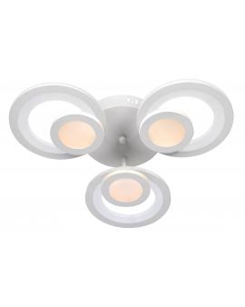 Lampa sufitowa ALVINE ring PLAFON 51W okrąg żyrandol 50cm LED MODERNISTYCZNA