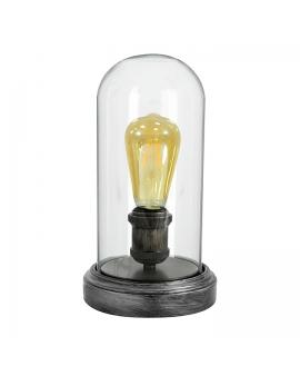 WYS.24H! Marynistyczna lampa stołowa BROOKLYN ścienna kopuła rustykalna E27 czarna
