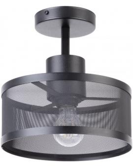 LAMPA industrialna BONO 1 klosz 31910 Sigma druciana LISTWA sufitowa metalowa loft OKRĄGŁA czarna