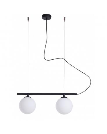 Lampa Wisząca Modern Beryl Glass Ii Aldex 1006h1 Listwa Czarna Loft