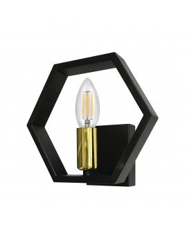 LAMPA ŚCIENNA LED KINKIET RETRO EDISON INDUSTRIAL