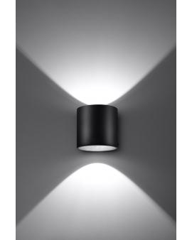 NOWOCZESNA LAMPA KINKIET DOWNLIGHT PLUTON 1XG9 CZARNY