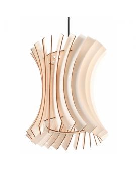 WYS 24H! Nowoczesny żyarndol ONION E27 LAMPA zwis drewniany abażur OPRAWA przewód czarny