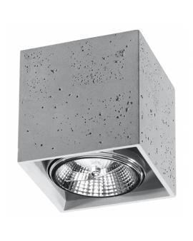 LAMPA sufitowa regulacja DELA natynkowa betonowa