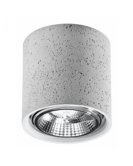 LAMPA sufitowa regulacja LUCO natynkowa betonowa DOWNLIGHT plafon