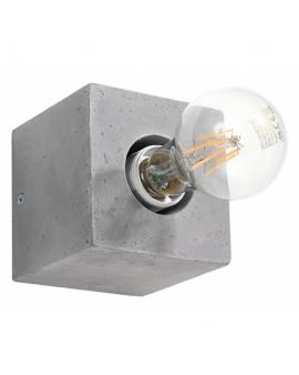 WYS. 24H! LAMPA ścienna NEPTUN E27 natynkowa kinkiet minimalistyczny KWADRAT beton