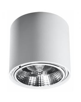 Downlight LAMPA sufitowa plafon okrągła PLUTON minimalistyczna CYLINDER metalowa spot WALEC