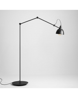 LAMPA podłogowa do czytania regulowana BIBI wys.170 cm LOFT industrialna LAMPKA stojąca nocna fabryczna
