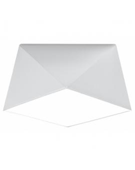 WYS 24H! Nowoczesny Plafon LAMPA sufitowa SQUARE TALL 25cm E27 kwadratowy OPRAWA natynkowa ABAŻUR biały