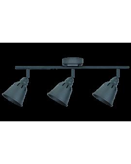 Plafon LAMPA sufitowa ścienna FIGA 3 industrialna RETRO regulowana LOFT kopuła metalowa REFLEKTOR czarny