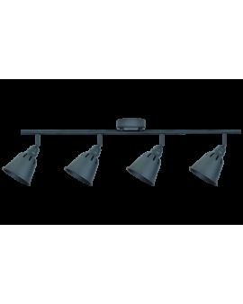 Plafon LAMPA sufitowa ścienna FIGA 4 industrialna RETRO regulowana LOFT kopuła metalowa REFLEKTOR czarny