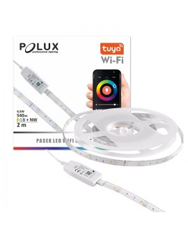POLUX 313904 Taśma LED Wi-Fi TUYA Smart 2m 4000K + RGB IP65