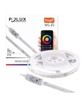 POLUX 313898 Taśma LED Wi-Fi TUYA Smart 2m 4000K + RGB IP65