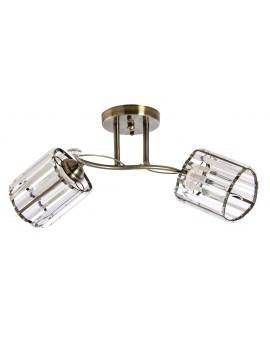 VENTI N3703/2 AB Lampa sufitowa E27 szkło