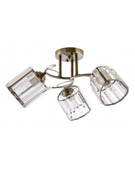 VENTIN N3703/3 ABLampa sufitowa E27 szkło