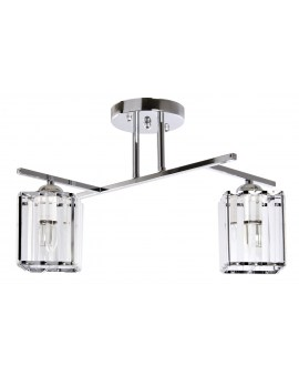 VENTIN N3278/2 CR Lampa sufitowa E27 szkło