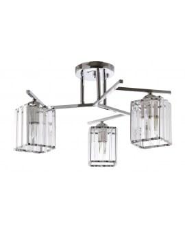 VENTIN N3278/3 CR Lampa sufitowa E27 szkło