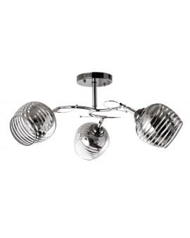 VENTIN N3659/3 Lampa sufitowa E27 szkło