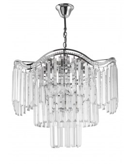VENTIN E1735/7 CR Lampa sufitowa E27 szkło
