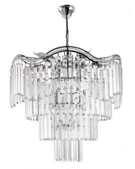 VENTIN E1735/9 CR Lampa sufitowa E27 szkło
