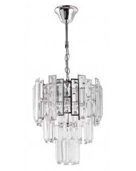VENTIN E1812/3 CR Lampa sufitowa E27 szkło