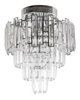 VENTI E1813/5+4 CR Lampa sufitowa E27 szkło