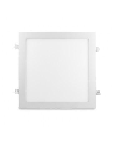 POLUX 303554 MARS Oprawa natynkowa 30 CM aluminium kwadrat biała