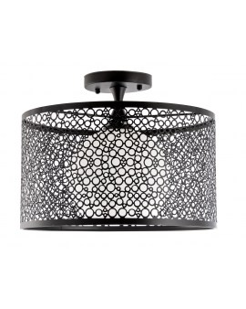 VENTI N2102/1H Lampa sufitowa E27 CZARNY