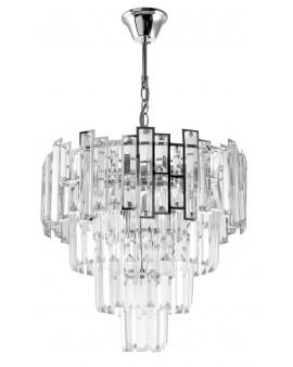 VENTI E1812/5 CR Lampa sufitowa E27 szkło