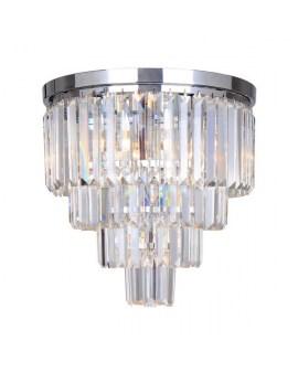 ZUMA FC17106/4+1-CHR AMEDEO LAMPA sufitowa kryształowa ŻYRANDOL crystal glamour złoty przezroczysty