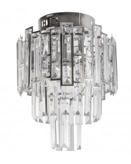 VENTI E1813/3+3 CR Lampa sufitowa E27 szkło