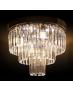 VENTIN E1736/4+3 CR Lampa sufitowa E27 szkło
