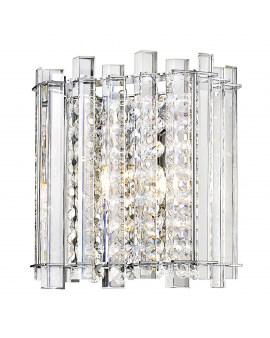 ZUMA W0465-01B-B5AC VENTUS Kinkiet LAMPA sufitowa OPRAWA z kryształkami glamour crystal przezroczysta