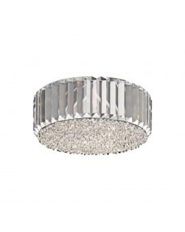 ZUMA C0360-05B-F4AC PRINCE LAMPA sufitowa okrągła OPRAWA z kryształkami glamour crystal przezroczysta