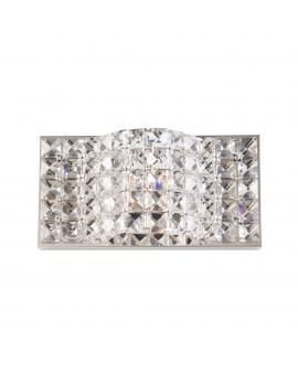 ZUMA W0246-01A-B5AC JASMINE KINKIET LAMPA ścienna OPRAWA z kryształkami glamour crystal przezroczysta