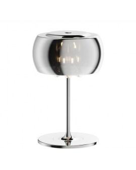 ZUMA T0076-03E-F4FZ CRYSTAL stołowa LAMPA szklane kule glamour z kryształkami szkło chromowane