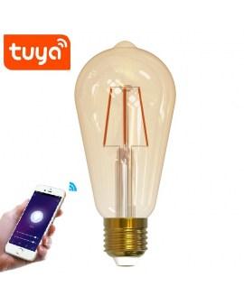 POLUX 313829 Żarówka LED ST64 Wi-Fi TUYA Smart