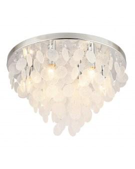 RABAT! DO -18% ZUMA 18366 PARDO Plafon LAMPA sufitowa szklana OPRAWA okrągła kryształki cristal glamour złota przezroczysta