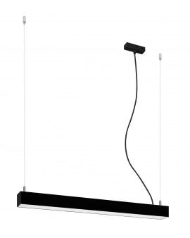 RABAT! DO -18% THORO TH.030 LAMPA wisząca liniowa PINNE 65cm na linkach LED 22W 3100LM 3000K listwa czarna