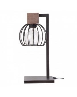 % SIGMA 50120 LAMPKA MILAN BRĄZOWY Lampka biurkowa