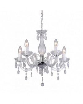 ZUMA ACTION RLD94016-5A MAGNOLIA Żyrandol z kryształkami akrylowymi świecznikowa szklany glamour przezroczysty
