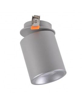 RABAT! DO -18% POLUX 314208 HARON GU10 LED Reflektor Oprawa Sufitowa Biały/szary