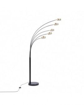 RABAT! DO -18% ZUMA TS-5805-BKBB ZODIAC LAMPA PODŁOGOWA CZARNA